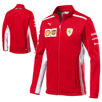 2018 Scuderia Ferrari F1 Formula One Mens Team Softshell Fleece Jacket by Puma