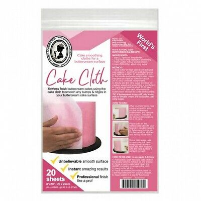 Queen Of Hearts Couture Cakes Cake Cloth Pack Of 50