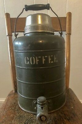 Vintage World War II Era  - 2 Gal. Coffee Canteen by Stanley