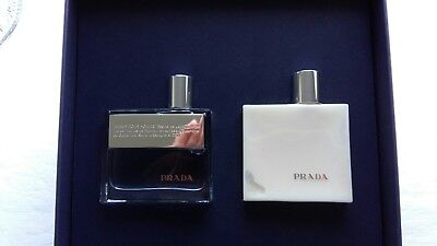 c2b64609ac56 GENUINE PRADA AMBER Pour Homme Mens gift set New   Unsealed - £37.00 ...