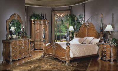 Aico By Michael Amini Eden Paradisio Collection 5pc King Bedroom Set