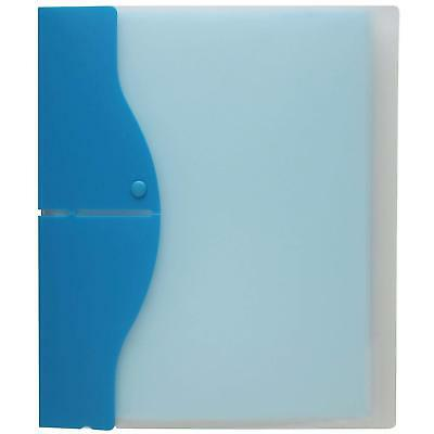 "Itoya Letter Size Pop-Up Easel Profolio for 8.5 x 11"", Aqua"
