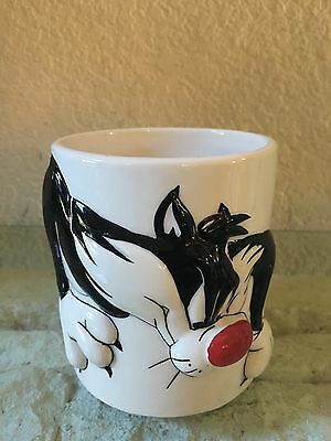Looney Tunes 3D Mug Sylvester Tweety Bird Gibson Collectible Warner Bros.