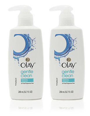 Oil Of Olay Gentle Clean Foaming Cleanser (2 Pack)