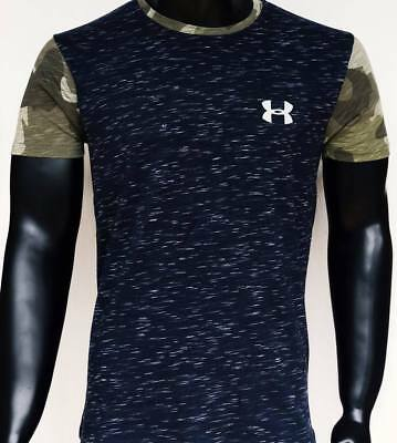 New 2019 Under Armour Camouflage Blue T-Shirt (Last Remaining in stock)
