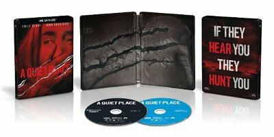 A Quiet Place (SteelBook)(4K Ultra HD)(UHD)(Atmos)(Dolby Vision)