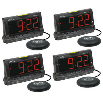 Clarity Wake Assure-4 Pack Loud Buzzer Alarm Clock