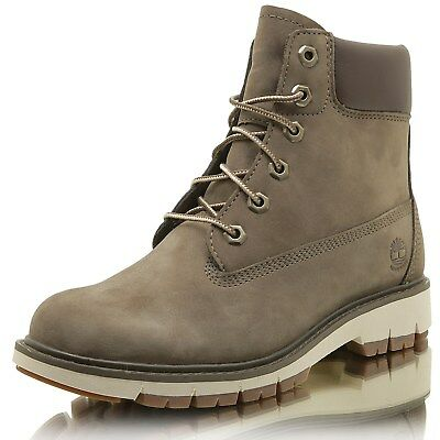 Timberland Lucia Way 6in WP boot à lacet femmes gris in gris