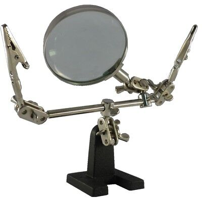 Helping Hand with Magnifier 3. Hand with Clamp Soldering Third Hand Stand