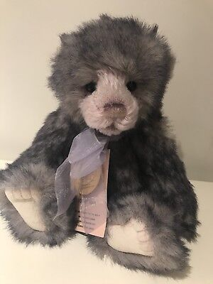 Charlie Bears Seren Plumo Limited Edition Jointed Teddy Bear