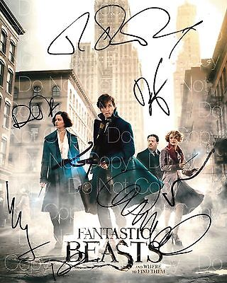 Fantastic Beasts signed JK Rowling 8X10 photo picture poster autograph RP