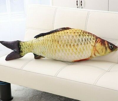 Fashion Simulation Carp Stuffed Fish Plush Toys Pillow Kids Creative Sofa Pillow