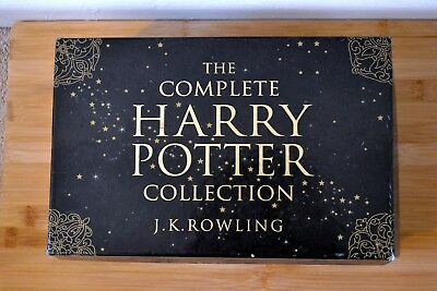 The Complete Harry Potter Collection by J.K Rowling: Adult Paperback Boxed Set