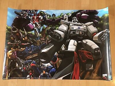 Transformers Character Collage 2002 Poster