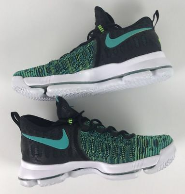 big sale 15e1f 1c47b Nike Zoom Kd 9 Jade Birds Of Paradise Clear Jade-Black Sz 10  843392