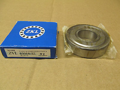 NIB ZKL ZVL 6306A2RSC3 BEARING RUBBER SEALED 6306 2RS C3 63062RSC3 30x72x19 mm