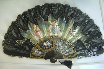 Spanish Fan handmade and painted