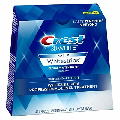 Crest3D White Professional Effects Whitening Strips - 5,10,15 or 20 pouches