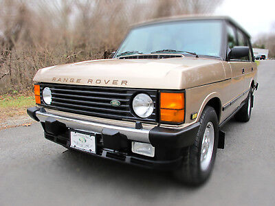 1995 Land Rover Range Rover County LWB 1995 LAND ROVER RANGE ROVER COUNTY LWB ... 93,556 Original Miles