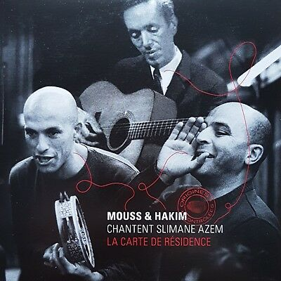 Mouss et Hakim ‎– La Carte de la Résidence (Slimane Azem) [ CD SINGLE PROMO ]