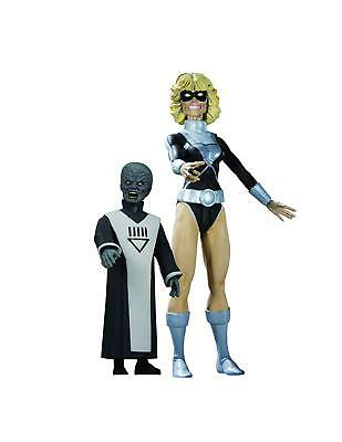 DC Direct Blackest Night: Series 7: Black Lantern Terra with Scar Action Figure