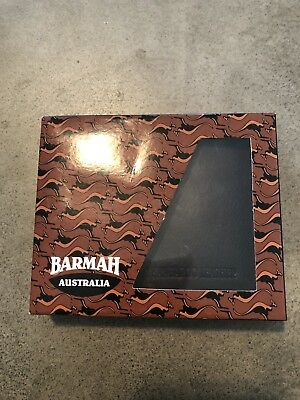 Barmah Kangaroo Leather Wallet Brown