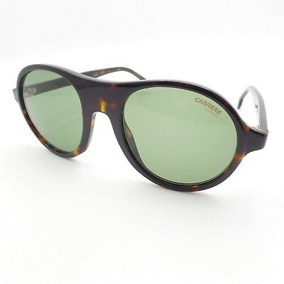 3f480f10ea04 AUTHENTIC CARRERA SUNGLASSES 143/S 086QT Dark Havana Frames Green ...