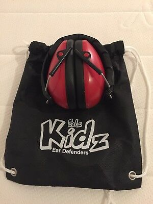 edz kidz ear defenders barely used in very good condition festival