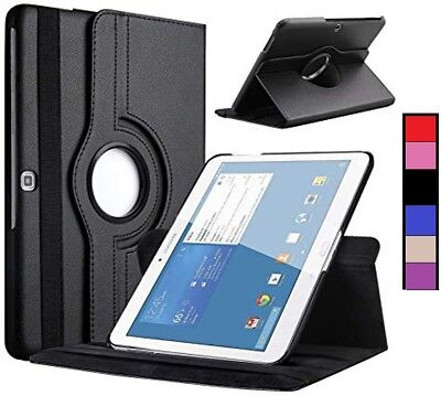 Folding Stand 360 Degree Cover Flip Case for Samsung Galaxy Tab 4 10.1 T530 T535