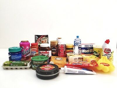 Coles Little Shop Mini Collectables Limited Edition FREE FAST POST Kids Toys