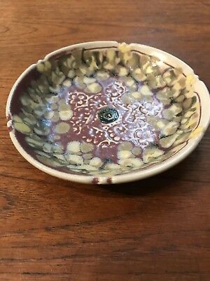 Vintage Lindy Rose Smith Australian Studio Pottery Dish