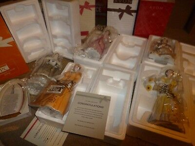 lot of 6 avon awards that only reps could buy. large avon selling awards