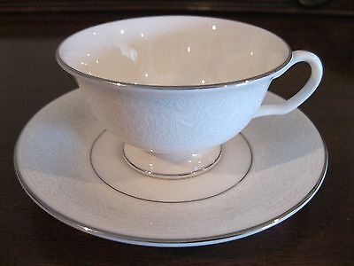 AMERICAN MANOR CHANTILLY COFFEE CUP & SAUCER by SHENANGO USA