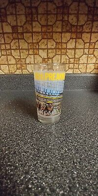 Preakness stakes glasses 106 1981