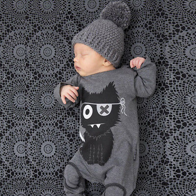 baby rompers newborn baby boy girl clothes long sleeve cartoon infant jumpsuit