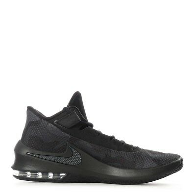 37af7aeda86b New Nike AIR MAX INFURIATE 2 MID PRM Size 10 Black Basketball Shoes  AO4428-001