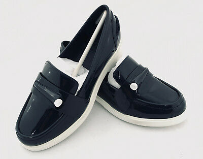 036b63afddc NEW WOMENS TORY Sport Pocket-Tee Golf Loafers 7 Navy MSRP  278 43447 ...