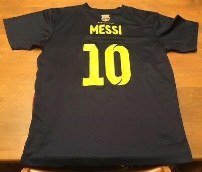 1b82663c99c FC BARCELONA FCB #10 Messi Soccer Jersey Shirt Men's Small - $39.99 ...