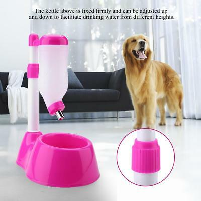 500ml Pet Cat Dog Automatic Water Dispenser Fountain Food Dish Bowl Feeder