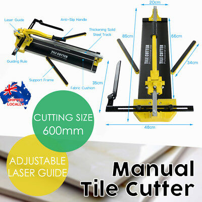 PROAMP 600MM PROFESSIONAL Tile Cutter With Laser Guide NL210