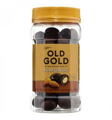 Cadbury Old Gold Scorched Almonds 310gm x 10