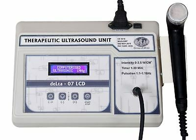 New Therapeutic Ultrasound Therapy 1 Mhz Pain Relief Physiotherapy 07 LCD GHD