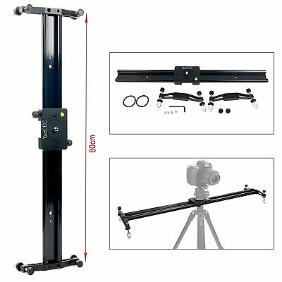 Professional Video Dolly Slider Rail System Stabilize and Support DSLR Camera