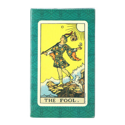 Tarot Cards Deck Vintage Antique Colorful Card Box Table Game 78 Card