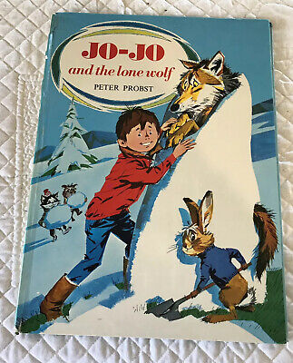 Rare Vintage Jo-Jo And The Lone Wolf By Peter Probst
