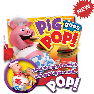 Pig Goes Pop Game from Ideal NEW Gift for Kids Girls Boys Birthday Present Fun t