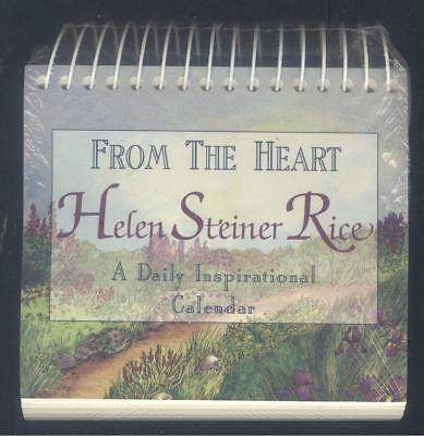 NEW/SEALED Helen Steiner Rice - From The Heart : A Daily Inspirational Calendar