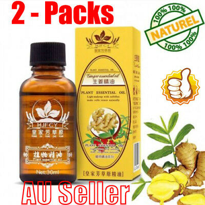 2-Pack 30ml Plant Therapy Lymphatic Drainage Ginger Oil [ 100% Natural ] 2019