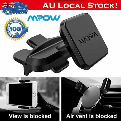 MPOW Universal Magnetic 360° CD Slot Car Holder Mount Stand for GPS Smart Phone