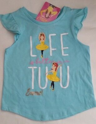 THE WIGGLES EMMA WIGGLE Licensed Girl tee t shirt top blue NEW sizes 1-4